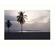 Carribean... still seascape! Art Print