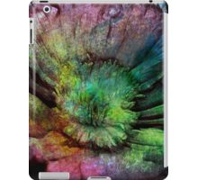 Rainbow touch rustic flower iPad Case/Skin