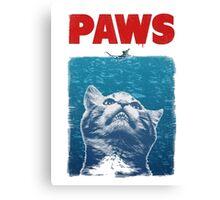 Paws Canvas Print
