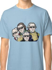 Founding Father Dudes Classic T-Shirt