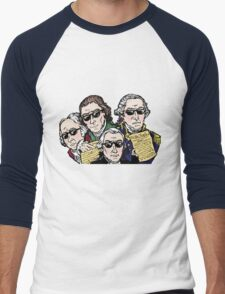 Founding Father Dudes Men's Baseball ¾ T-Shirt