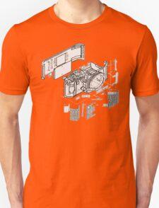 Nikon f3 camera blueprint Unisex T-Shirt