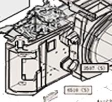 Nikon f3 camera blueprint Sticker