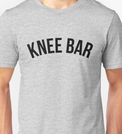 Knee Bar - Brazilian Jiu-Jitsu Unisex T-Shirt