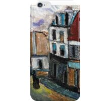 City Square(after Utrillo) iPhone Case/Skin