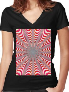 Dizzy (full length) Women's Fitted V-Neck T-Shirt