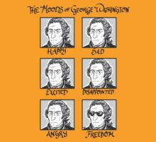 The Moods of George Washington by tayloredhistory