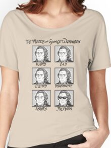 The Moods of George Washington Women's Relaxed Fit T-Shirt