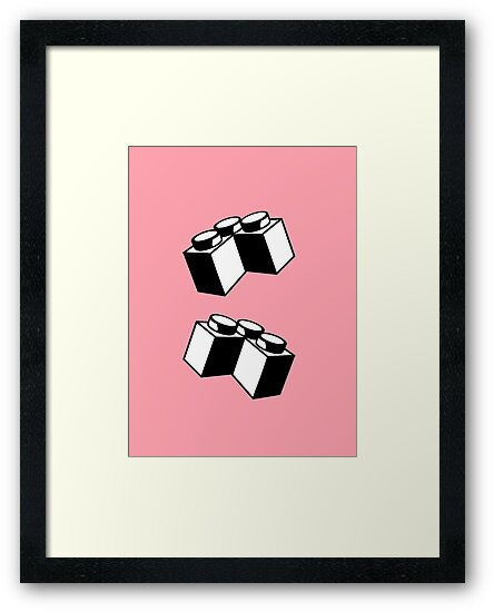 Brick 2 x 2 Corner by Customize My Minifig