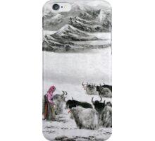 Snowy Mountain iPhone Case/Skin