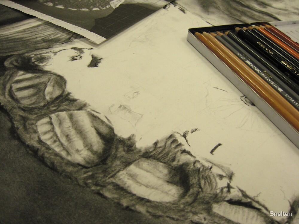 sketch by Snelten