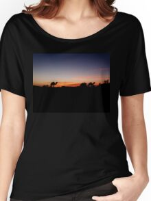 Sunset in the Sahara Women's Relaxed Fit T-Shirt