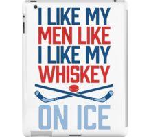 Hockey and Whiskey iPad Case/Skin