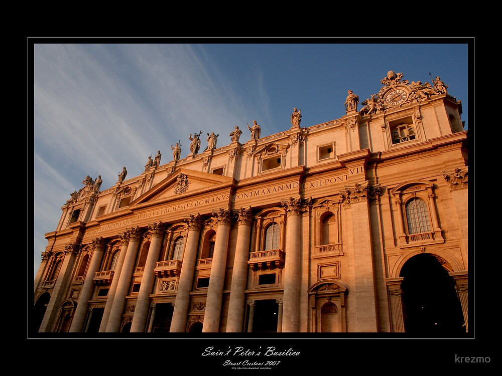 Saint Peter's Basilica by krezmo