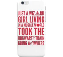 Small Town Wizard - Journey Mashup iPhone Case/Skin