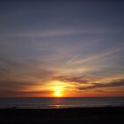 Sunrise Over Seabrook Beach by Rpnzle