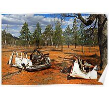 Australian Outback at Cobar Poster