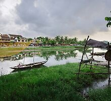 Hoi An River by Oliver Winter