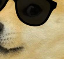 Doge -  deal with it sunglasses meme Sticker
