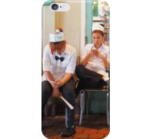 Servers at Cafe du Monde - New Orleans, LA iPhone Case/Skin