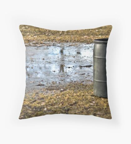 temporary remedy Throw Pillow