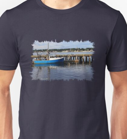Fishing Boat on the Thames River Unisex T-Shirt