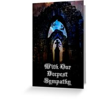 With Our Deepest Sympathy Greeting Card