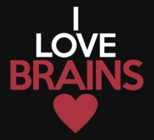 I love brains by onebaretree