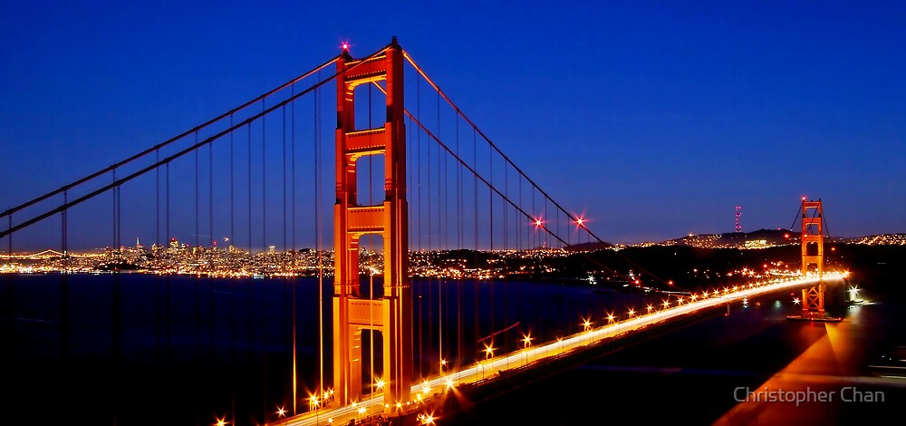 The Golden Gate Bridge by Christopher Chan