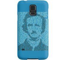 Edgar Allen Poe - The Raven Poem Retro T Shirt Samsung Galaxy Case/Skin