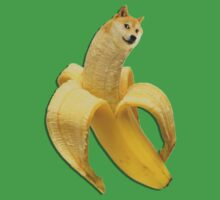 Doge meme wow banana by bakery