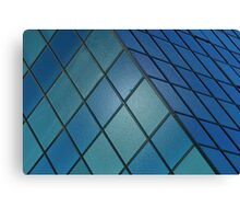 Blue Cube Canvas Print