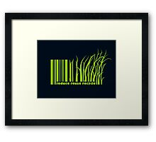 Rethink Framed Print