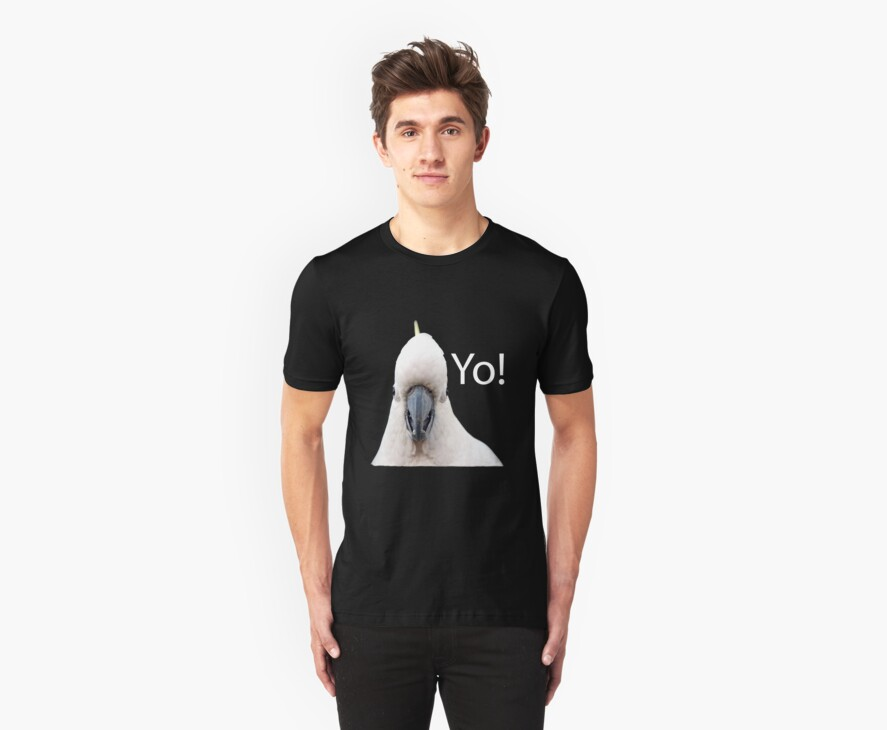 Yo! T-Shirt by Lesley Smitheringale