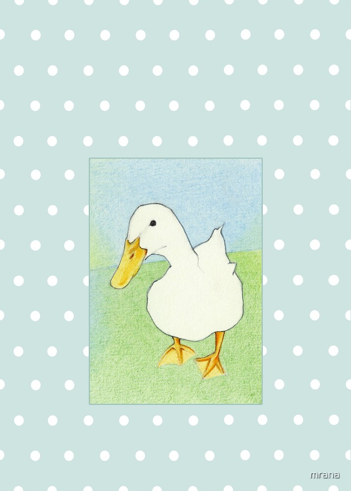 Duck Kiss Dots by Mariana Musa