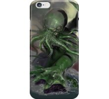 Cthulhu rising iPhone Case/Skin