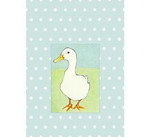 Duck Cool Dots Photographic Print