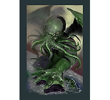 Cthulhu rising Photographic Print