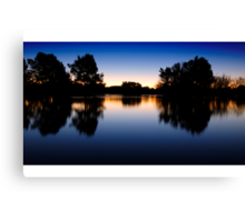 Lake Burley Griffin Sunset Canvas Print