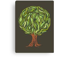 Illusion  tree Canvas Print