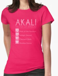 Champion Akali Skill Set In Pink Womens Fitted T-Shirt