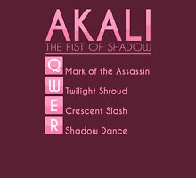 Champion Akali Skill Set In Pink Unisex T-Shirt