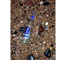 Bottle on the Sands Photographic Print