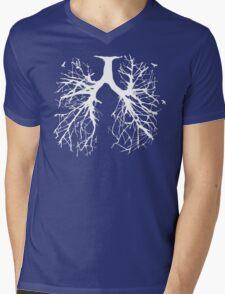 Tree Of Life (white) Mens V-Neck T-Shirt