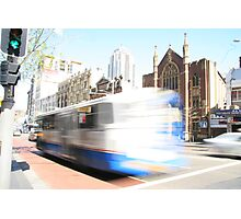 Sydney bus... Photographic Print