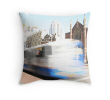 Sydney bus... Throw Pillow