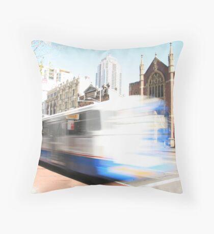 Sydney bus... Throw Pillow
