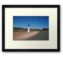 Bourke North Point Framed Print