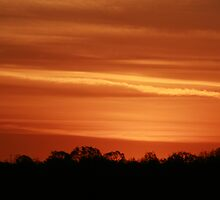 Cobar Sunset by Ross Campbell
