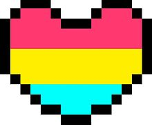 Pan Pride Heart Pixel by SlothyHugs